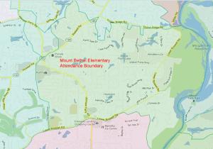 Mount Bethel Elementary School Attendance Zone