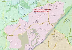 Soap Creek Elementary School Attendance Zone